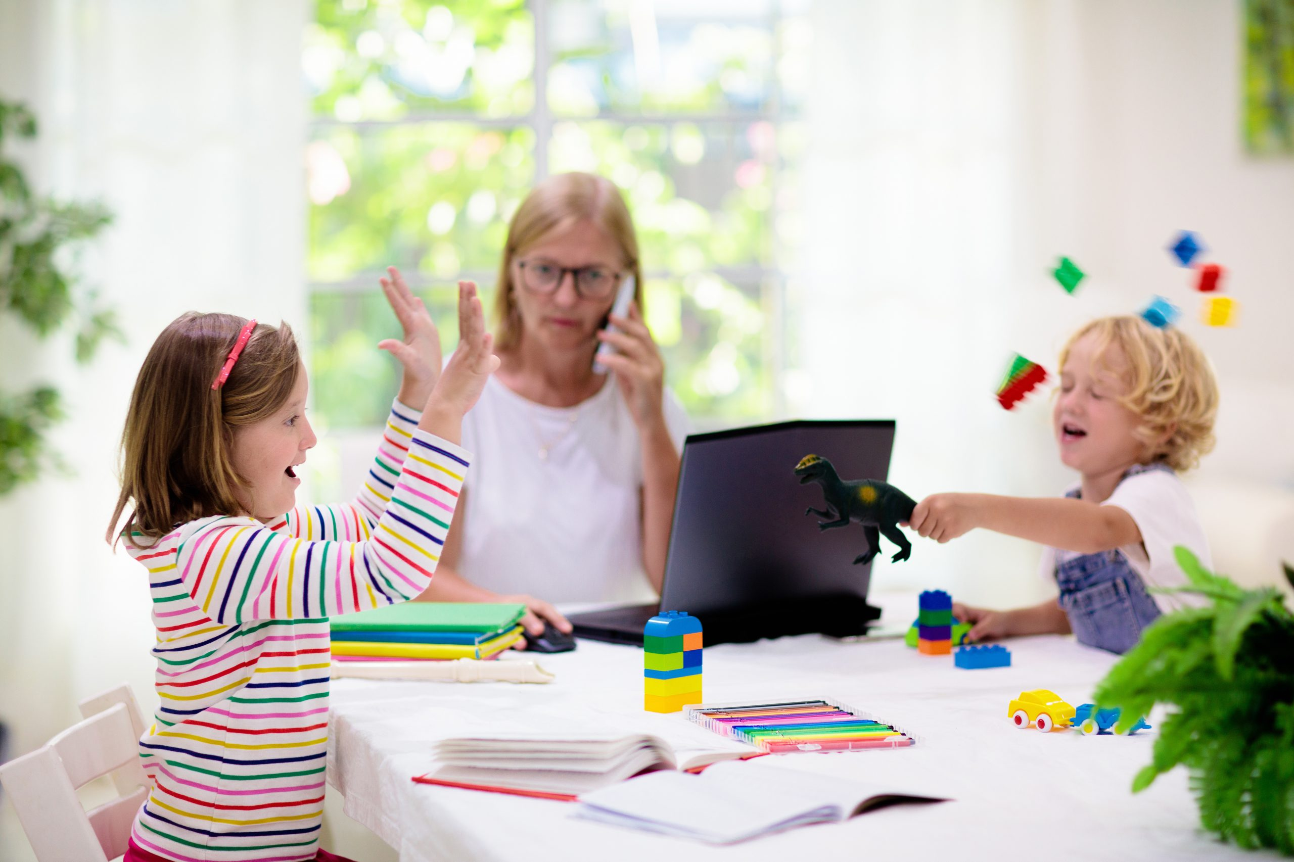 Homeoffice - Kinderbetreuung